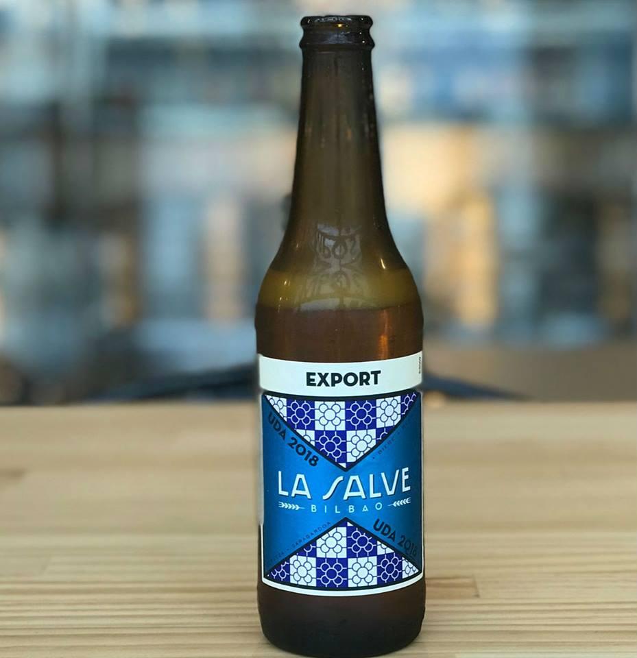 Cerveza Edición especial Aste nagusia - La Salve Bilbao