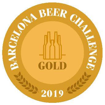 Medalla Oro Barcelona Beer Challenge 2019