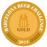 LA SALVE Export Medalla de oro Barcelona Beer Challenge 2019