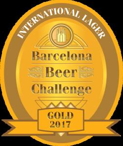 Medalla Oro Barcelona Beer Challenge 2017