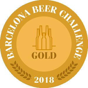 Medalla Oro Barcelona Beer Challenge 2018