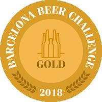 LA SALVE Negra Medalla de oro Barcelona Beer Challenge 2018