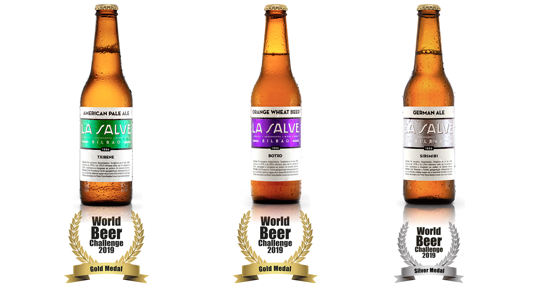 LA SALVE World Beer Challenge 2019 16-9