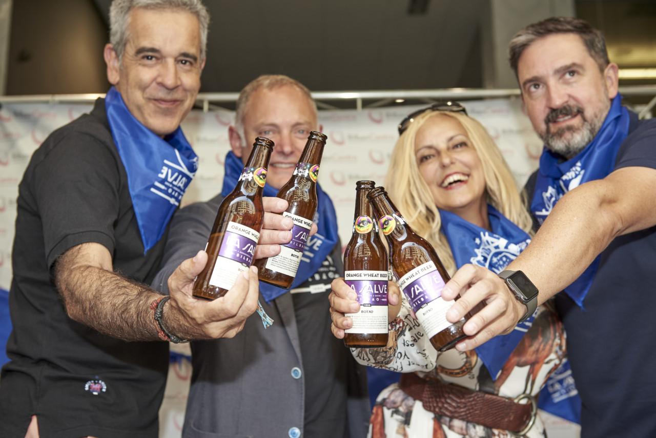 Presentación de la nueva cerveza para Aste Nagusia 2019