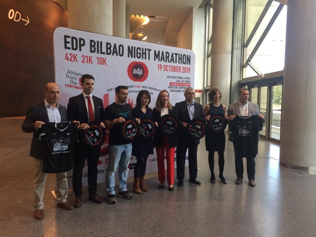 Presentación Bilbao Nigth Marathon 2019 patrocinado por LA SALVE - LA SALVE Bilbao