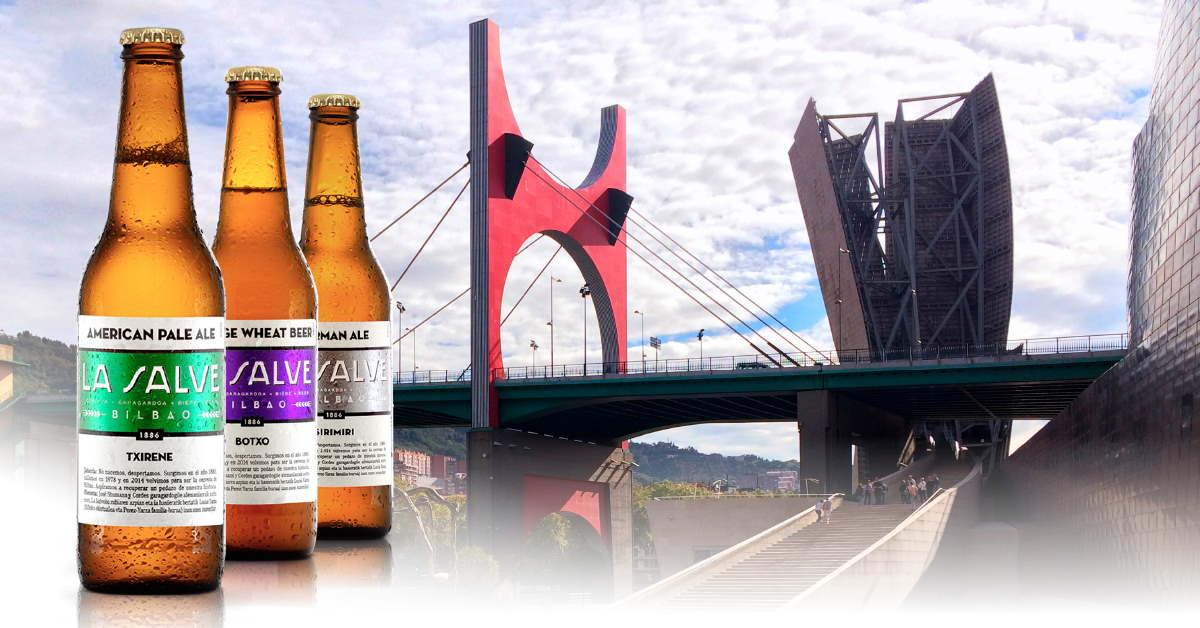 Pop Up LA SALVE, una experiencia cervecera efímera en Bilbao - LA SALVE Bilbao