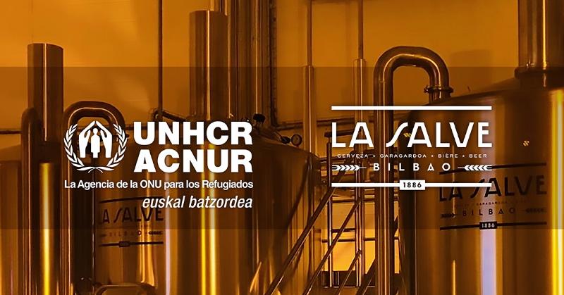 Colaboración La Salve y Acnur - La Salve Bilbao