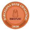 Cerveza premiada Barcelona Beer Challenge 2020 - Bronze 2020