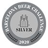 Cerveza premiada Barcelona Beer Challenge 2020 - Silver 2020