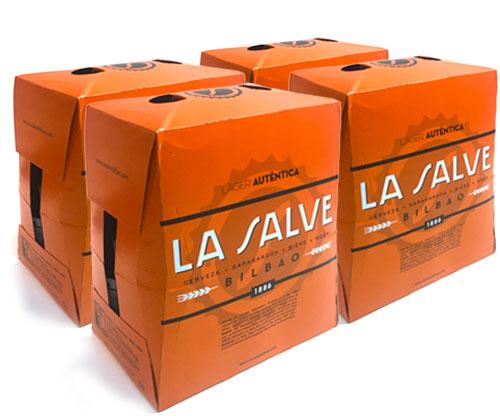 Cerveza a domicilio: Pack completo - LA SALVE Bilbao