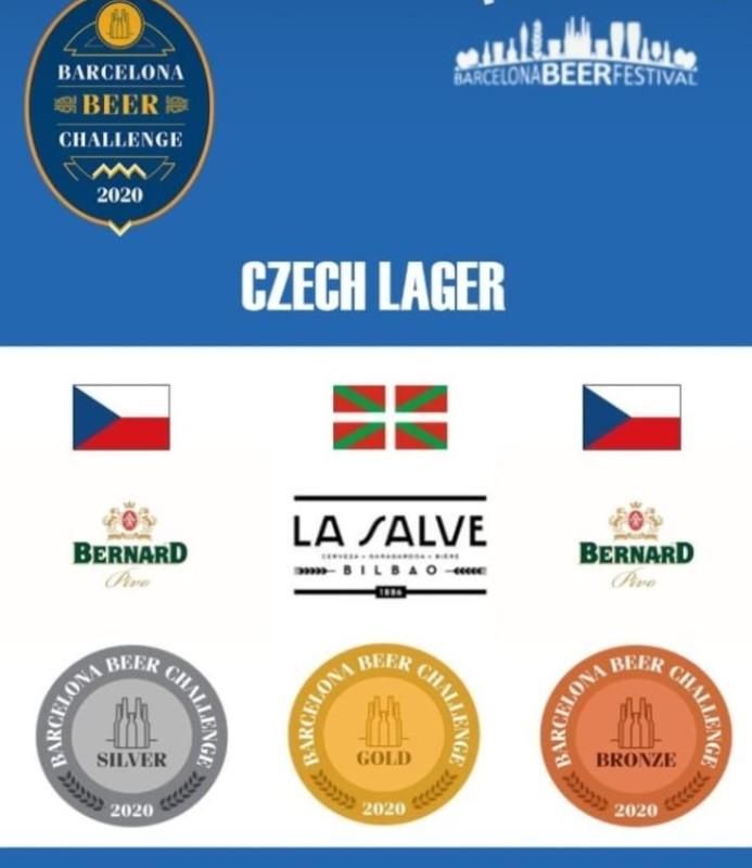 LA SALVE Negra, Medalla de Oro en Barcelona Beer Challenge 2020 - LA SALVE Bilbao