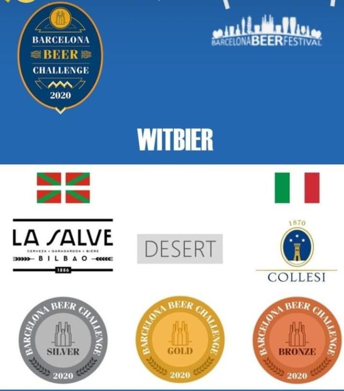LA SALVE Botxo, Medalla de Plata en Barcelona Beer Challenge 2020 - LA SALVE Bilbao