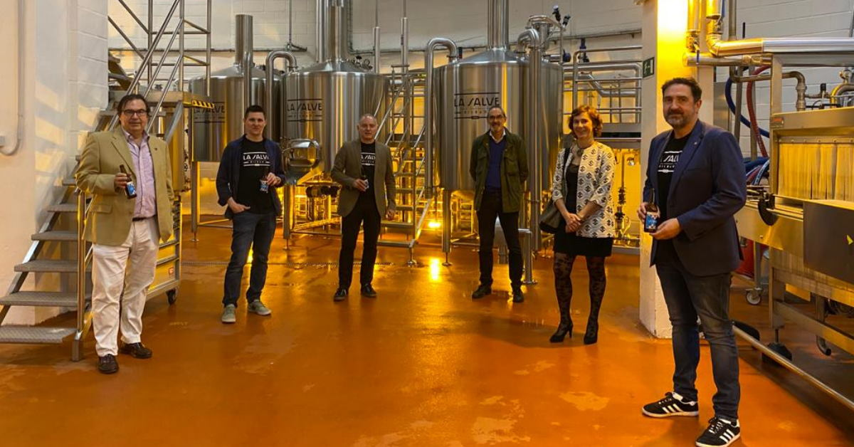 Presentación de LA SALVE EXPORT, la cerveza de verano - LA SALVE Bilbao