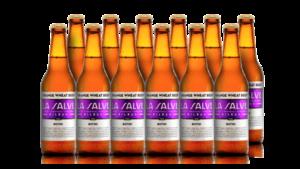 La Salve Botxo orange weath cerveza trigo caja 12 botellas