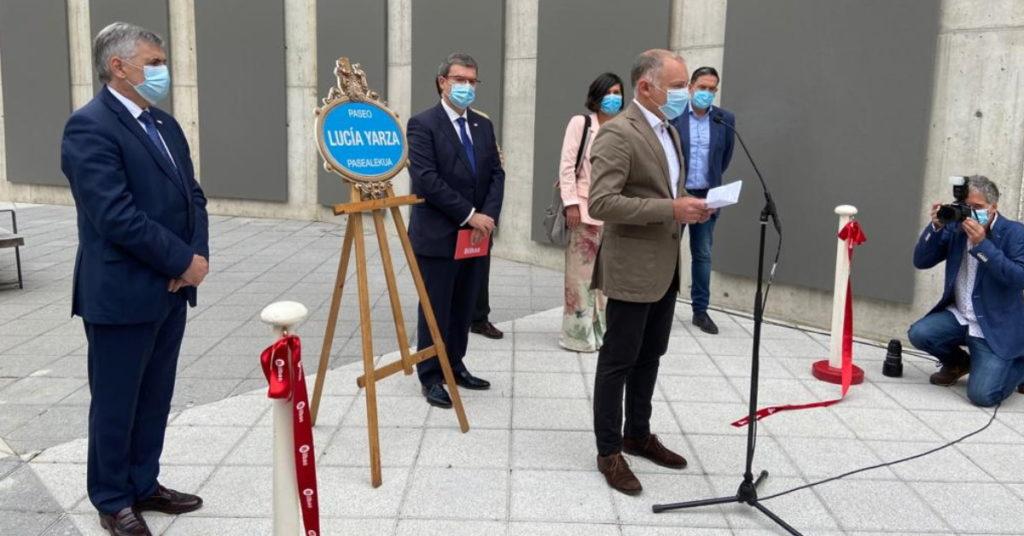 Inauguración paseo Lucia Yarza Bilbao - LA SALVE Bilbao