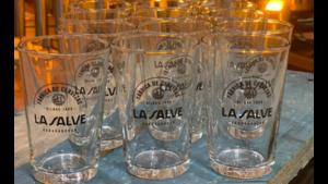 Pack 12 vasos cerveceros LA SALVE
