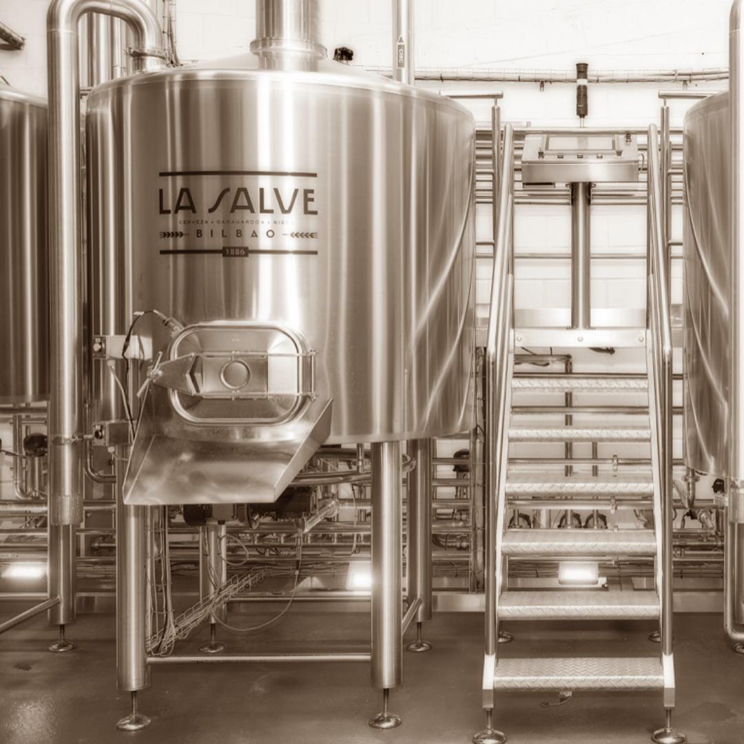 Cerveza Vasca. Elaborando Cerveza Artesana - LA SALVE Bilbao