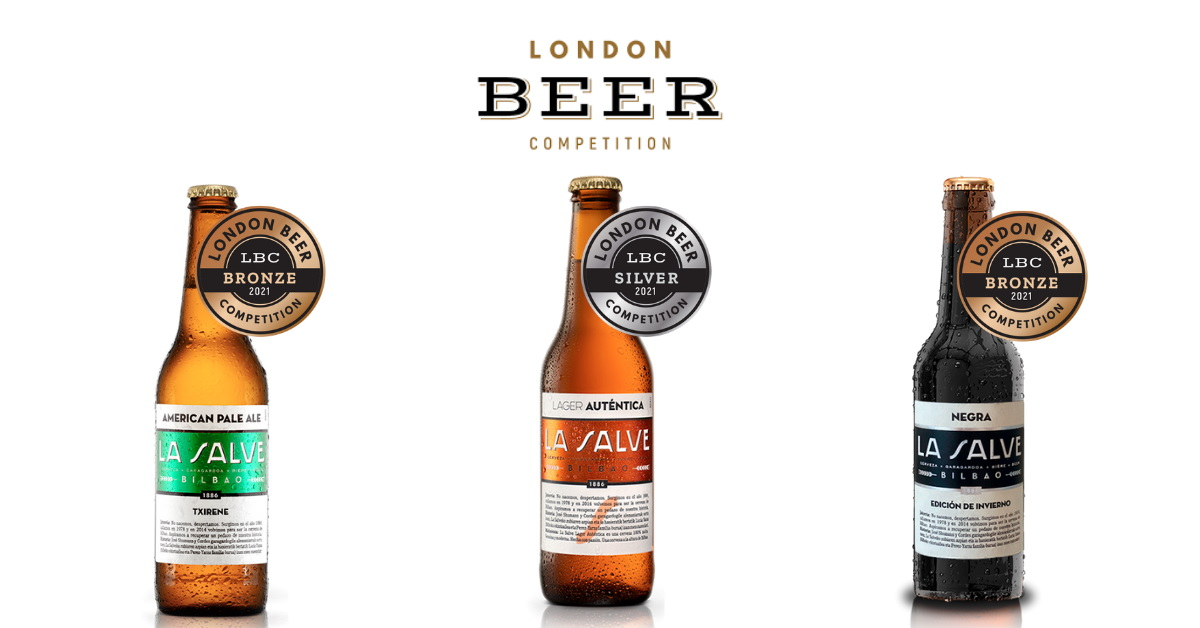 London Beer Competition 2021 - LA SALVE Bilbao