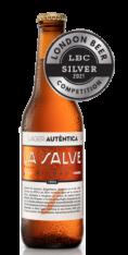 Cerveza Lager premiada con medalla de plata en el London Beer Competition - LA SALVE Bilbao
