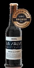 Cerveza Negra premiada con medalla de bronce en el London Beer Competition - LA SALVE Bilbao