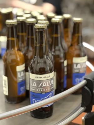 Liga LA SALVE. Cerveza edición especial Liga de remo - LA SALVE Bilbao