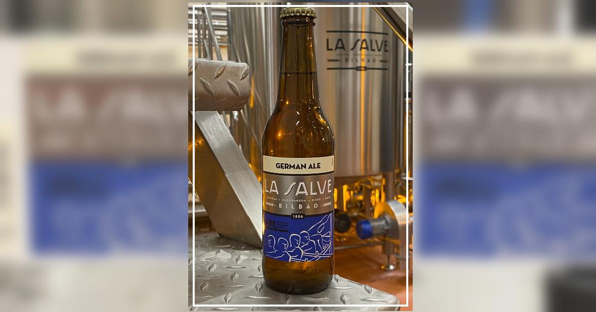 Cerveza edición especial Liga LA SALVE de Remo - LA SALVE Bilbao