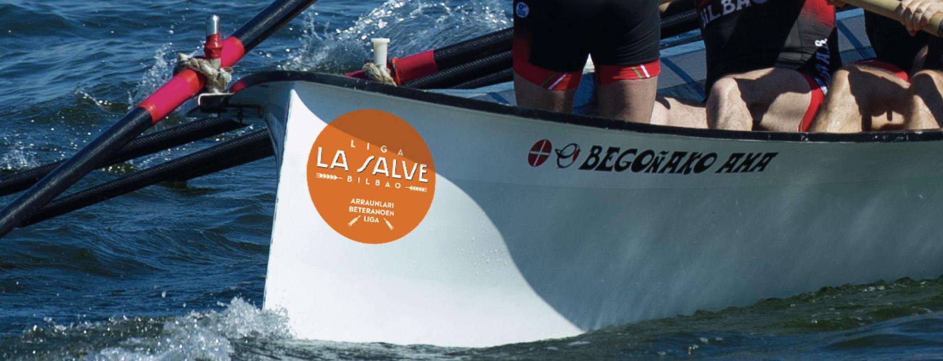 Liga LA SALVE de remo primera regata en Pasaia - LA SALVE Bilbao