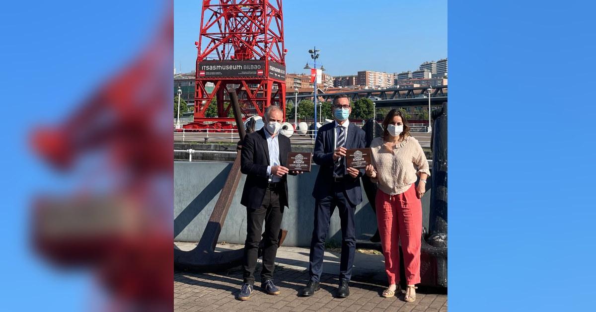 LA SALVE entrega las medallas del Barcelona Beer Challenge a Itsasmuseum Bilbao - LA SALVE Bilbao
