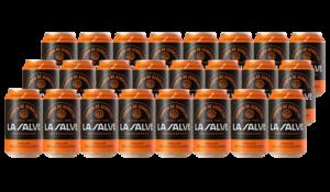 Pack 24 latas LA SALVE Lager Auténtica - LA SALVE Bilbao