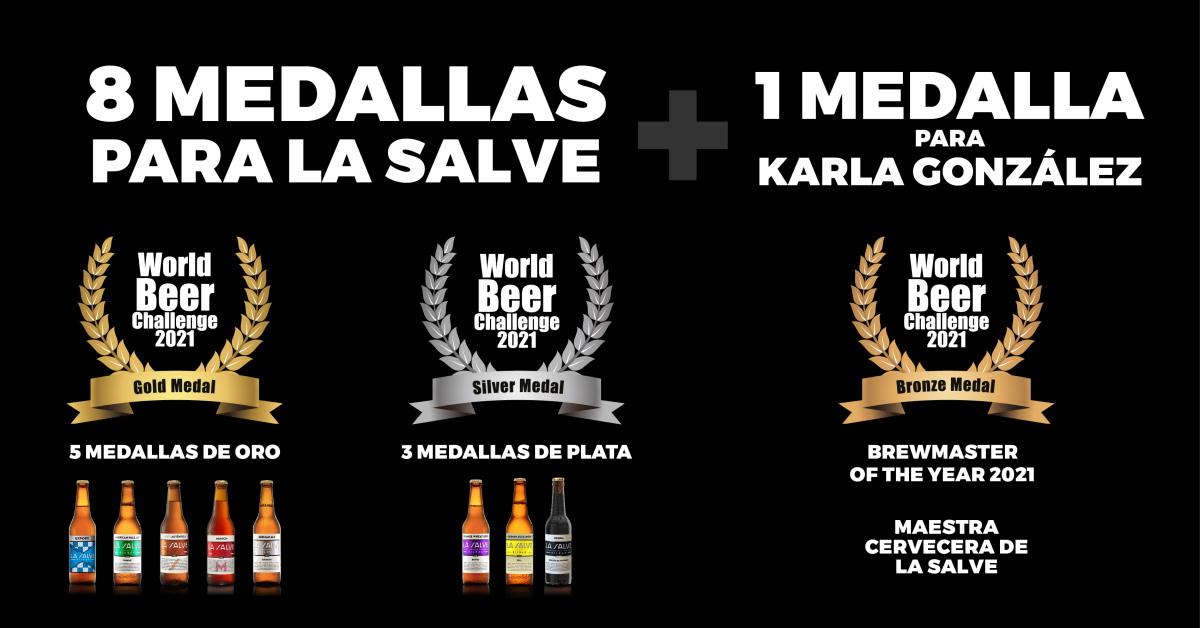 World Beer Challenge 2021 - LA SALVE Bilbao